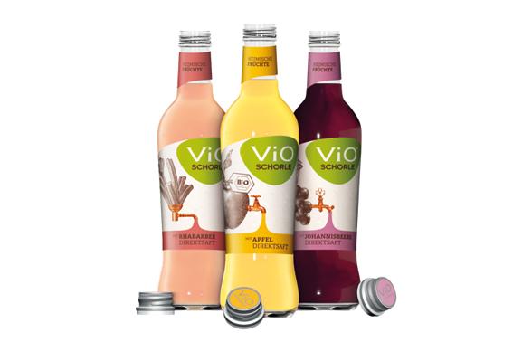 Schorlen, ViO Schorlenvielfalt, Werbung | ÓNIRO trinken